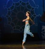 """För balett""""One tusen och en den lilla sjöjungfru rena Nights†en Arkivbild"""