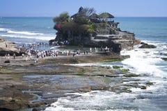 för bali tempel mycket havstanah royaltyfria foton