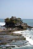 för bali tempel mycket havstanah Arkivfoton