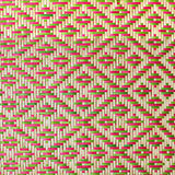 För bambumodell för slut upp vävd handväskor och korgarbetebortgång på gemenskapindentityen Royaltyfri Bild