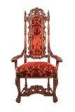 för banatappning för stol clipping isolerad white Arkivbild