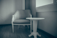 för banatappning för stol clipping isolerad white Arkivfoto