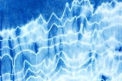 För bandfärg för indigoblå blått bakgrund för abstrakt begrepp för modell Arkivfoton
