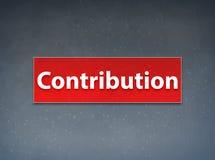 För banerabstrakt begrepp för bidrag röd bakgrund royaltyfri illustrationer