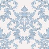 För barock damast blom- imperialistisk stil modellacanthus för tappning Vektordekorbakgrund Lyxig klassisk prydnad royal vektor illustrationer