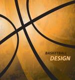 för basketillustration för bakgrund 3d framfört realistiskt Arkivbilder