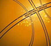 för basketillustration för bakgrund 3d framfört realistiskt Vektor Illustrationer