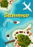 för begreppsferie för strand brittisk toy för sommar för pass Arkivfoton