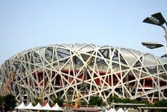 för beijing fågel olympic s stadion för nationellt rede Royaltyfri Bild