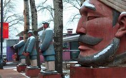 för beijing för 798 konst område porslin Royaltyfri Foto