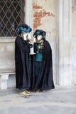 för berömd traditionell venezia venice italy för karnevalgarnering maskering Arkivfoto
