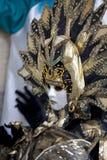 för berömd traditionell venezia venice italy för karnevalgarnering maskering Royaltyfria Foton