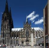 för berömdt värld för unesco för lokal för landmark germany för domkyrkacologne arv internationell Royaltyfria Bilder