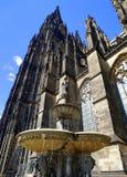 för berömdt värld för unesco för lokal för landmark germany för domkyrkacologne arv internationell Royaltyfri Fotografi