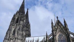 för berömdt värld för unesco för lokal för landmark germany för domkyrkacologne arv internationell stock video