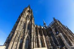 för berömdt värld för unesco för lokal för landmark germany för domkyrkacologne arv internationell royaltyfria foton