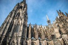 för berömdt värld för unesco för lokal för landmark germany för domkyrkacologne arv internationell Royaltyfri Foto