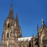 för berömdt värld för unesco för lokal för landmark germany för domkyrkacologne arv internationell Det rangordnade tredje i lista Royaltyfria Bilder