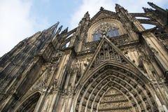 för berömdt värld för unesco för lokal för landmark germany för domkyrkacologne arv internationell E Royaltyfri Bild