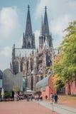 för berömdt värld för unesco för lokal för landmark germany för domkyrkacologne arv internationell Världsarv Royaltyfria Foton