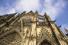 för berömdt värld för unesco för lokal för landmark germany för domkyrkacologne arv internationell Världsarv - en Roman Catholic  Fotografering för Bildbyråer