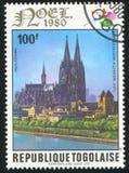 för berömdt värld för unesco för lokal för landmark germany för domkyrkacologne arv internationell arkivbilder