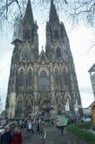för berömdt värld för unesco för lokal för landmark germany för domkyrkacologne arv internationell Världsarv - en Roman Catholic  Royaltyfria Foton
