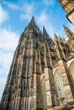 för berömdt värld för unesco för lokal för landmark germany för domkyrkacologne arv internationell Världsarv - en Roman Catholic  Royaltyfri Foto