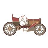 ` För bil för dekor` gammal, royaltyfri illustrationer
