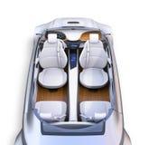 För bil` s för jackett autonom inre royaltyfri illustrationer