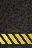 för bildandeväg för asfalt detaljerad struktur för personal för fyrkant Arkivbilder