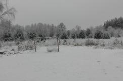 För bildbild för VINTER ZIMA snö Arkivfoton