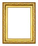 för bildfoto för forntida ram guld- stil Royaltyfri Foto