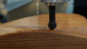 För bildläsararm för kontakt 3D lättnad för yttersida avläsande, få skott arkivfilmer