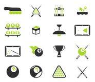 För biljard symboler enkelt Arkivbild