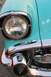 För bilshower för kändisen turnerar den klassiska bilen för tappning royaltyfri fotografi