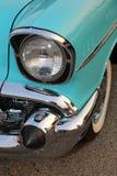 För bilshower för kändisen turnerar den klassiska bilen för tappning royaltyfria foton