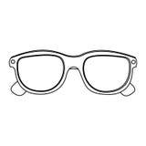 för biofilm för exponeringsglas 3d symbol Royaltyfri Foto