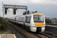För Birmingham för Chiltern järnvägar ankommande gata hed arkivbilder