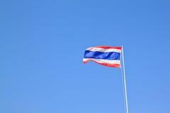 för blå flagga thai thailand våg för bildsk Royaltyfri Bild