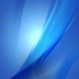 För blåttflöde för abstrakt begrepp slät bakgrund för naturen, teknologi Royaltyfri Fotografi