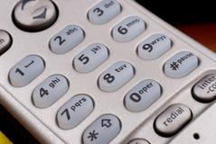 för blocktelefon för detalj key portable Royaltyfri Fotografi
