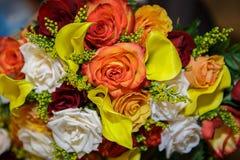för blommabild för bukett ljus vektor Arkivfoto