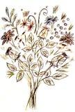 för blommabild för bukett ljus vektor Royaltyfria Foton
