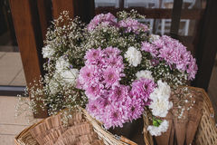 för blommaillustration för bukett blom- vektor Arkivfoto
