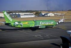 för boeing för flygbolag 4s3 737 zs för oao kulula Royaltyfri Fotografi