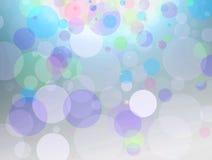 För bokehdesign för konst färgrik bakgrund Royaltyfri Bild