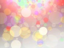 För bokehdesign för konst färgrik bakgrund Royaltyfri Fotografi