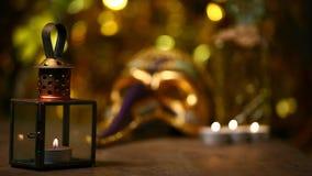 För bokehstearinljus för maskering guld- längd i fot räknat för hd