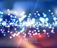 För bokehvision för vektor abstrakt design III för bakgrund Royaltyfria Foton